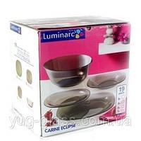 """Сервіз столовий 19 предметний Carine Eclipse """"H0431"""" Luminarc., фото 1"""