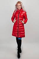 Куртка женская теплая AG-0002628 Красный