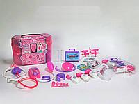 Игровой набор для девочек Игровой Набор Доктора (5615B) с аксессуарами в чемодане