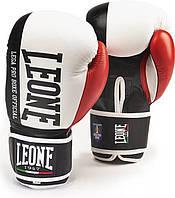 Боксерские перчатки Leone Contender White 12 ун.