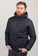 Куртка мужская зимняя с капюшоном, на синтепоне AG-0002673 Черный