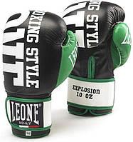 Боксерские перчатки Leone Explosion Black 10 ун