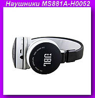 Наушники Bluetooth MS881A - H0052,Беспроводные bleutooth-наушники