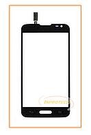 Сенсор (тачскрин) LG D320 D321 MS323 Optimus L70 Black Original