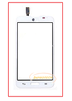 Сенсор (тачскрин) LG D320 D321 MS323 Optimus L70 White Original