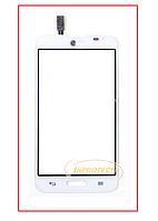 Сенсор (тачскрин) LG D320 D321 MS323 Optimus L70 White Original