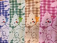 Полотенце махровое *Мишки*