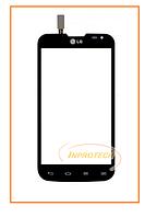 Сенсор (тачскрин) LG D325 Optimus L70 Black Original