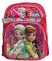 Ранец ортопедический Эльза + Пенал для девочек. Рюкзак, портфель ортопедический для школы 3, 4, 5 класс