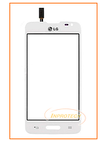 Сенсор (тачскрин) LG D325 Optimus L70 White Original