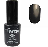 Гель-лак Tertio №161 Темно-зеленый серый 10 мл