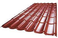 Металлочерепица Гранд PE (0,5) все цвета U.S.Steel, фото 1
