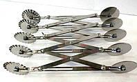 Кондитерский раздвижной двухсторонний дисковый нож на 5 элементов