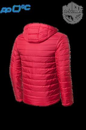 Мужская красная демисезонная куртка MOC (р. 46-56) арт. 968В, фото 2