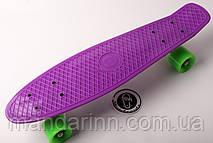 FISH Скейт Скейтборд ORIGINAL 22 PENNY Фиолетовый