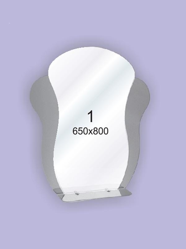 Зеркало для ванной комнаты ( настенное зеркало) 650х800мм Ф1