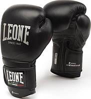 Боксерские перчатки Leone Professional Black 10 ун