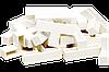 Крестики т-образные для декоративного камня 10 мм. KLVIV/KL02T09 уп. 20 шт.