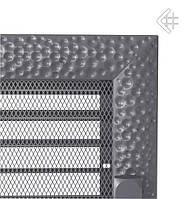Вентиляционная решетка KRATKI VENUS 22х30 СМ графитовая с жалюзи, фото 1