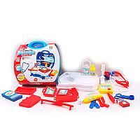 Игровой набор для девочек Игровой Набор Доктора (118-56A) 20дет, стетоскоп, шприц, ножницы, очки, скальпель