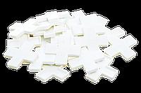 Крестики для декоративного камня 12 мм. KLVIV/KL0291У уп. 25 шт.