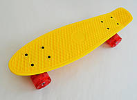 Fish Скейтборд Original 22 Penny Желтый LED, фото 1