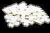 Крестики т-образные для декоративного камня 12 мм. KLVIV/KL02Т10У уп. 25 шт.