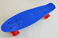 Fish Скейтборд Original 22 Penny Синий LED , фото 1