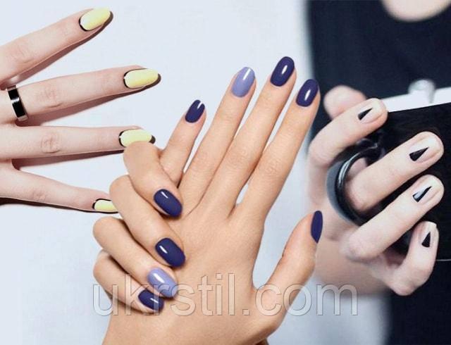 Лучшие варианты дизайна для ногтевых пластин овальной формы