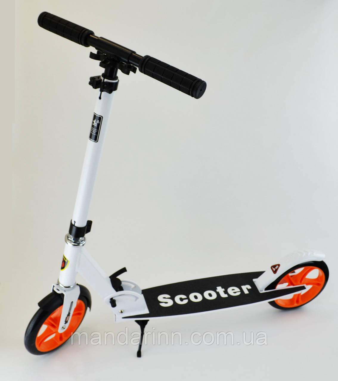 Двухколесный самокат Smart Scooter Белый
