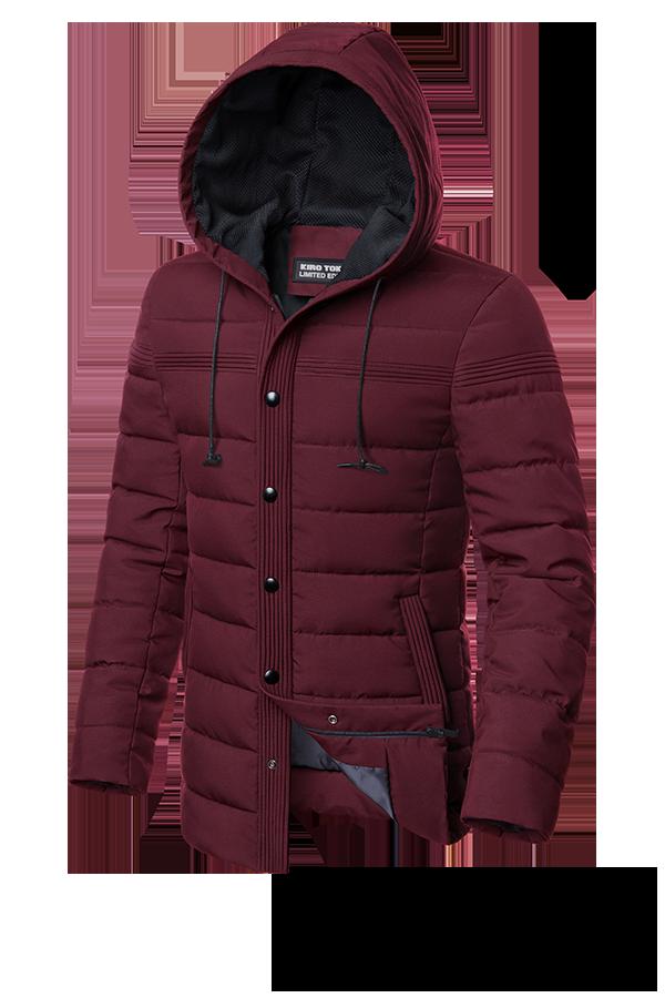 Мужская длинная осенняя куртка (р. 48-56) арт. 4864В