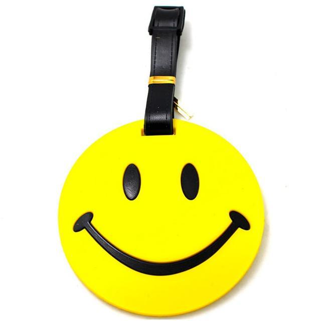 Бирка багажная Smile