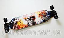 ЛонгБорд Speedriding Fire Skull