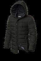 Мужская удлиненная осенняя куртка (р. 48-56) арт. 4864А
