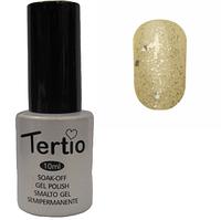 Гель-лак Tertio №189 Белая ночь с микроблеском и блестками 10 мл