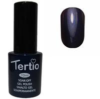 Гель-лак Tertio №191 Темно-синий с микроблеском 10 мл