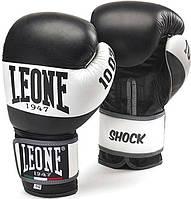 Боксерские перчатки Leone Shock Black 10 ун