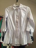 Рубашка белая Коттон