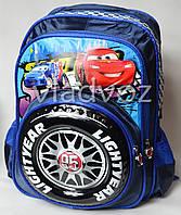 Школьный рюкзак для мальчиков Тачки синий
