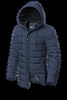 Мужская синяя демисезонная куртка (р. 48-56) арт. 4864О