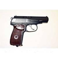 Пневматический пистолет ПМ Байкал МР-654Кс бакелитовой рукояткой