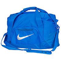 Спортивная сумка для тренировок 46 л. NIKE FB SHIELD DUFFEL BA5084-406 голубая