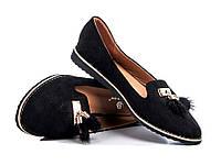 Туфли женские черный (р 36)