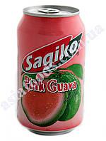Напиток Sagiko Розовая Гуава 320 мл