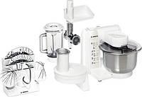 Кухонный комбайн Bosch MUM 4875, 600 Вт, швидкостей: 4, насадка для тіста, насадка для збивання, терка