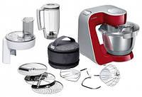 Кухонный комбайн Bosch MUM58720, 1000 Вт, насадка для тіста, насадка для збивання, терка, насадка для нарізки