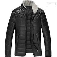 Куртка из натуральной кожи мужская. Модель 6244.