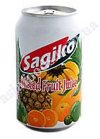 Напиток Микс тропических фруктов Sagiko 320 мл