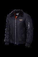 Черная мужская осенняя куртка (р. 46-56) арт. 229А