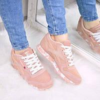 Кроссовки женские Reebok Classic пудра 3211, 40 размер спортивная обувь